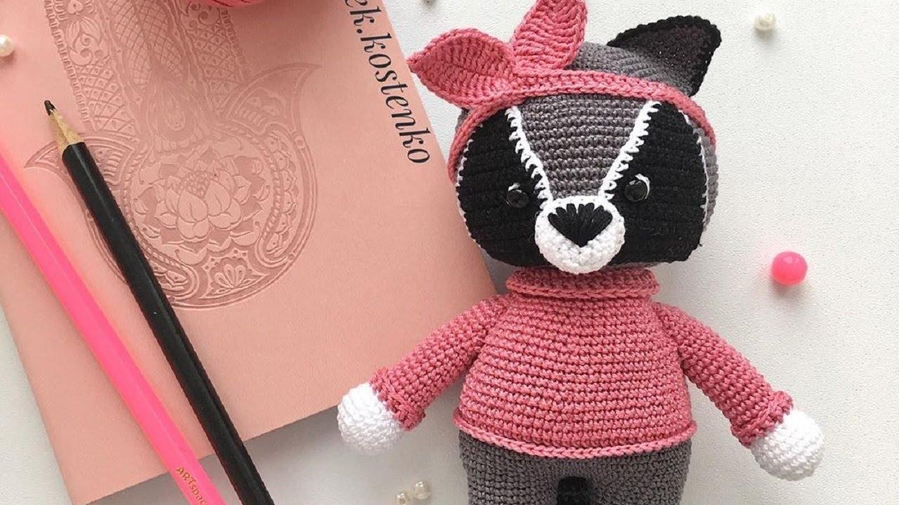 Pink Panther Amigurumi - Free Pattern (Beautiful Skills - Crochet ... | 720x1280