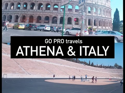 Greece & Italy GoPro Travels