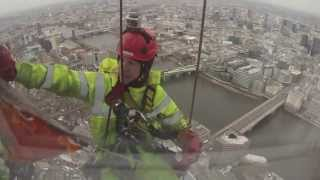 The Shard Window Cleaners : Europe's Highest Profession