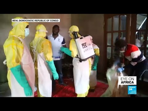 Approximately 300 dead as DR Congo battles Ebola outbreak
