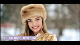 Top 5 eastern european countries with the most beautiful women