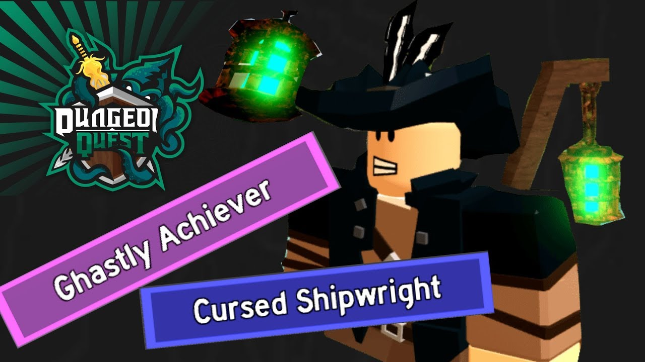 New Cosmetic Title From Ghastly Harbor Dungeon Quest Roblox