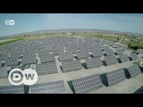Senegal's president backs solar power |  DW English