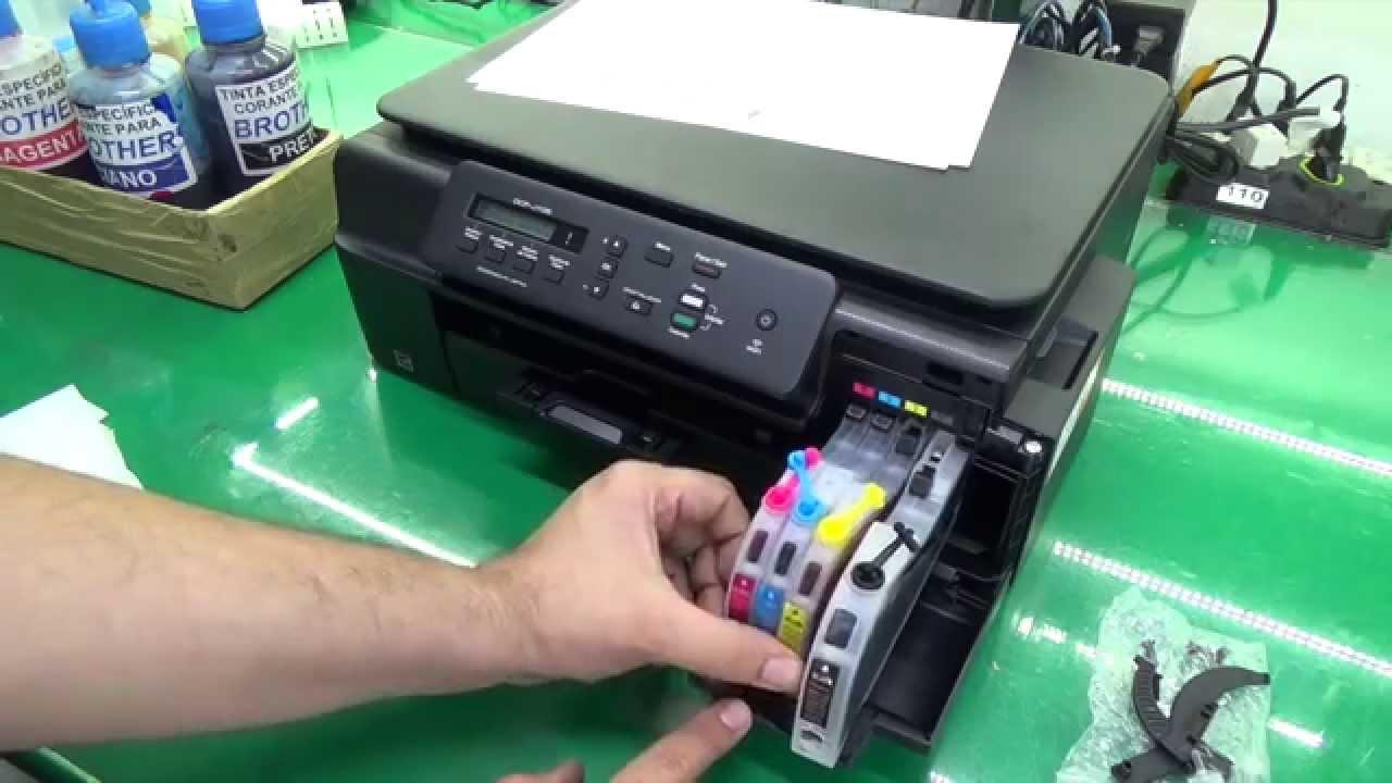 instala o do bulk ink na brother j100 j105 j200 e similares rh youtube com
