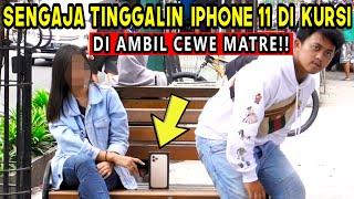 Tes KEJUJURAN Tinggalin IPHONE 11 Disamping ORANG GA DI KENAL! EH DIBAWA KABUR