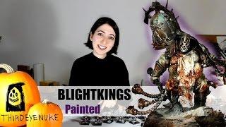 Putrid Blightking & Gutrot Spume PAINTED by ThirdEyeNuke Studio