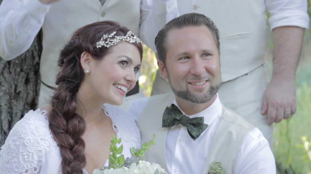 Jamie\'s Fairy Tale Wedding | Something Borrowed, Something New - YouTube
