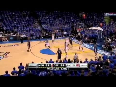 NBA Playoffs-Oklahoma City Thunder Vs  Memphis Grizzlies Round2 Game 1 Highlights-HD