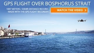AR.Drone 2.0 Crossing Bosphorus: 1Km with GPS