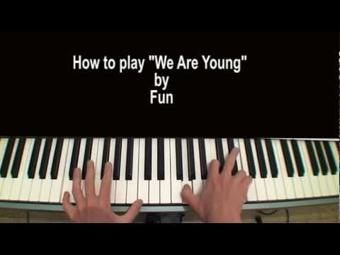 Fun We Are Young Piano Tutorial Ft. Janelle Monae