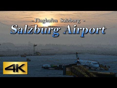 【4K】Special !!  Salzburg Airport Austria 2017 the Amazing Airport Spotting