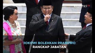 Jokowi Bolehkan Prabowo Rangkap Jabatan Menhan dan Ketum Gerindra