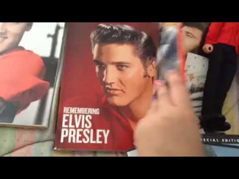 My Elvis Presley's Collection For His 40th Anniversary