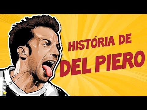 A EMOCIONANTE história de DEL PIERO - 'A minha camisa 10 nunca será aposentada'