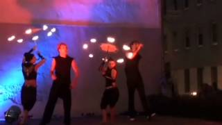 Fire Performance Training, Budapest, 2014 June, Gala Show