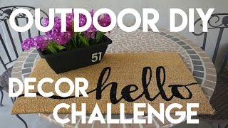 Outdoor DIY & Decor Challenge: Address Display