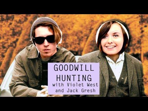 GOODWILL HUNTING | mini vlog | Violet West & Jack Gresh