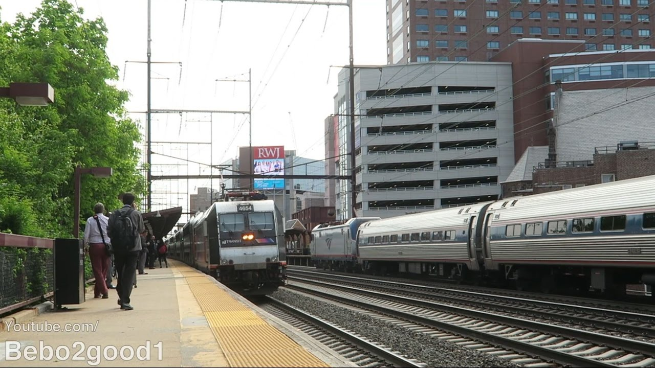 NJ Transit / Amtrak Train Action: 2 Hours at New Brunswick, NJ RR with  Extras