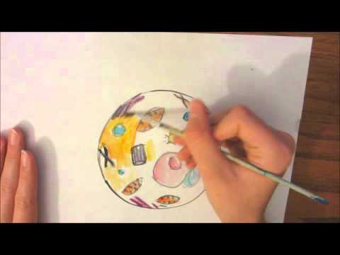 an animal cell drawing - YouTube