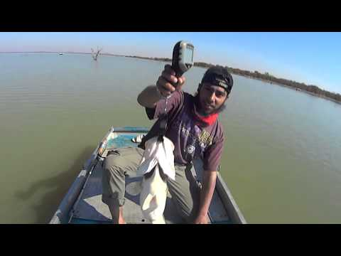 Letsibogo Dam Botswana, Bass Fishing, September 2014