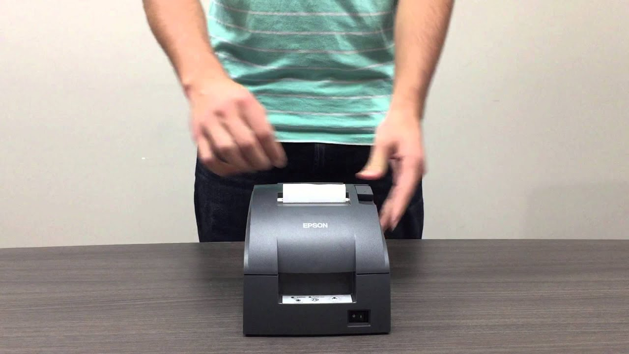 Epson Kitchen Printer Setup Video