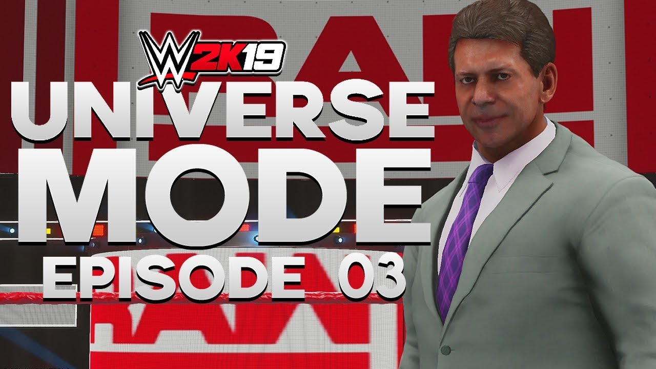 WWE 2K19 | Universe Mode - 'RAW'S GM REVEALED!' | #03