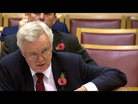 David Davis admits Brexit deal will probably favour EU