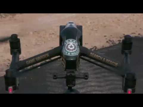 New Search and Rescue Drone - Texas Parks and Wildlife Department