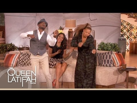 Taye Diggs on The Queen Latifah