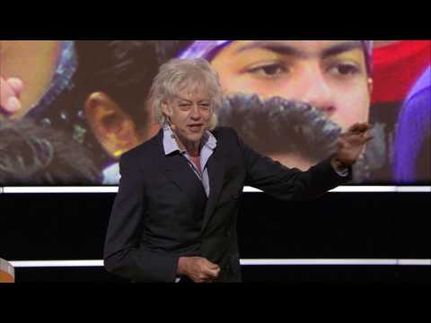 Sir Bob Geldof at Stockholm Food Forum 2017