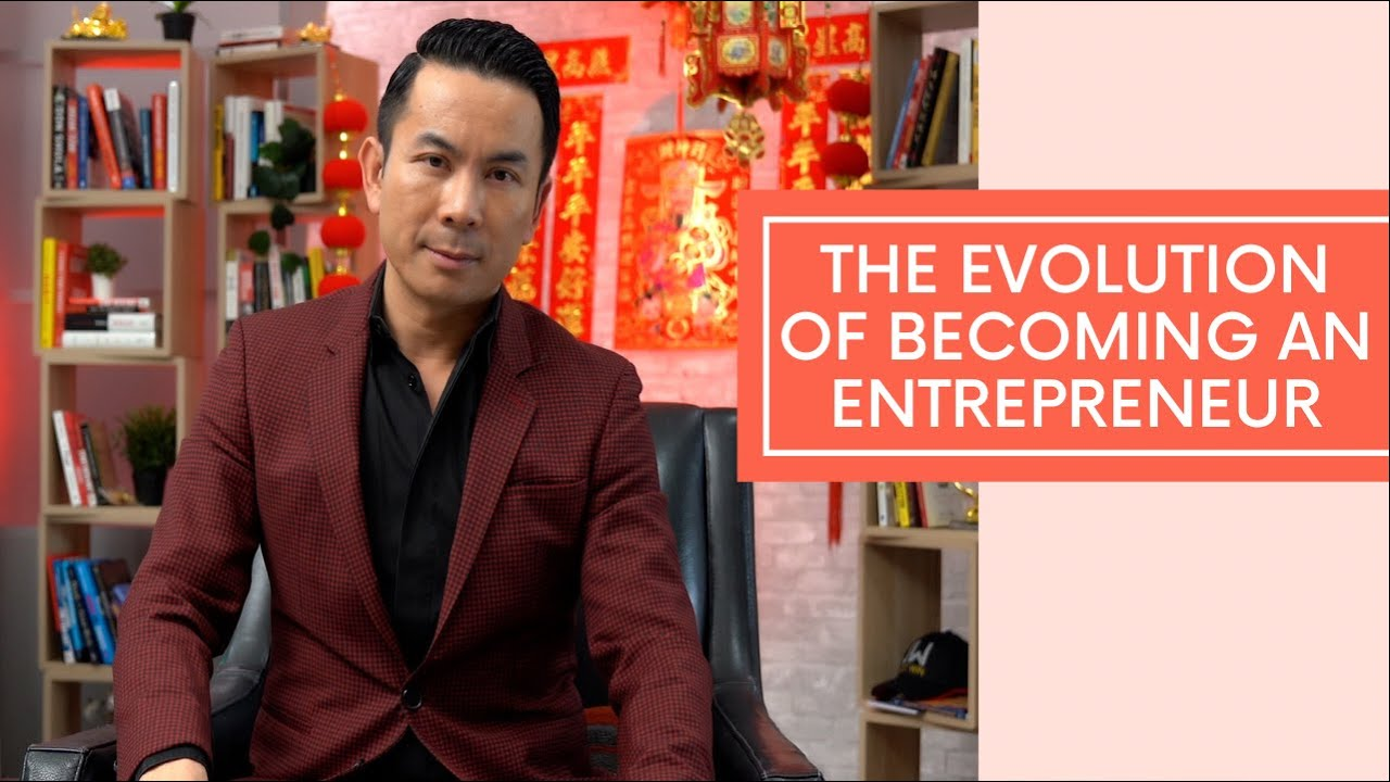 The Evolution Of Becoming An Entrepreneur