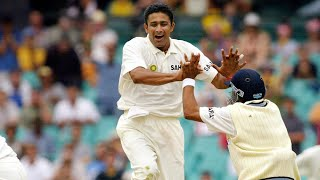 From the Vault: Kumble takes eight in Sydney