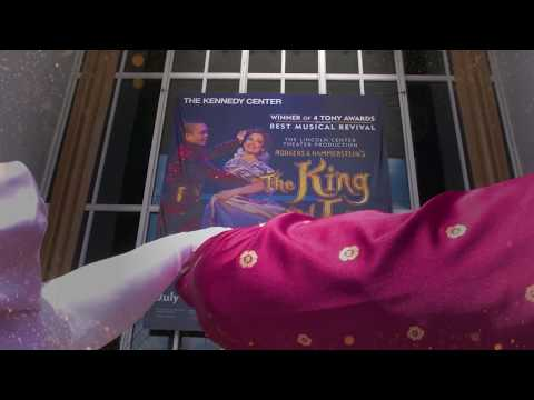 """The King and I"" visits the Kennedy Center!"