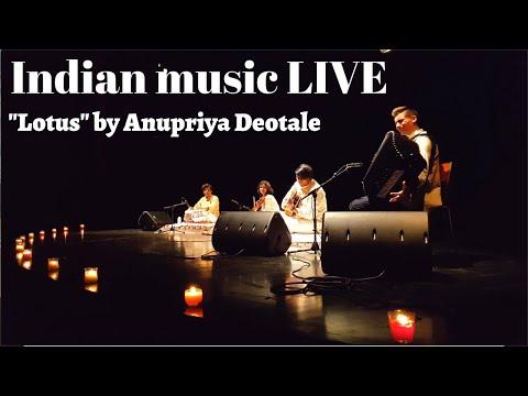 """Lotus""- Martin Kutnar With Anupriya Deotale(violin) & Friends│Indian Music"