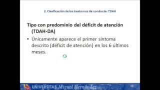 umh0459 2013-14 Lec001 Trastornos de conducta