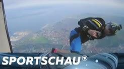Freestyle Swooping - Coole Stunts mit dem Fallschirm | Sportschau