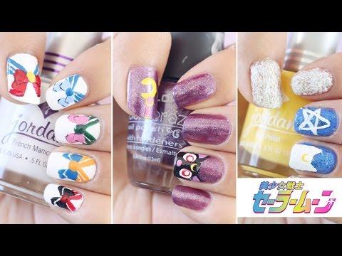 Diseños De Uñas Sailor Moon 美少女戦士セーラームーン