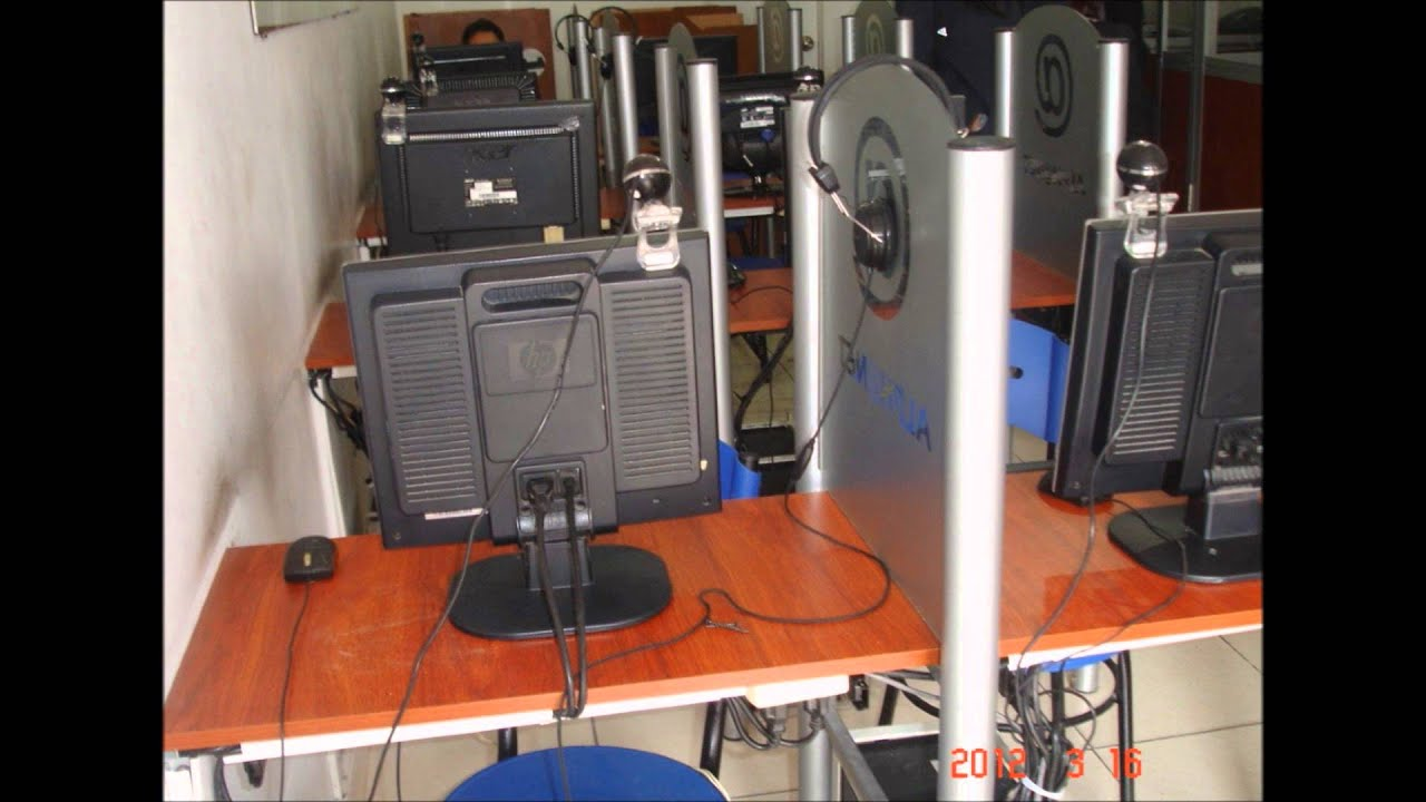 Muebles para internet, cabinas telefonicas, call center, recepciones y