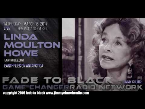 Ep. 625 FADE to BLACK Jimmy Church w/ Linda Moulton Howe : Antarctica Revelations : LIVE