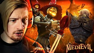 THESE SCARECROWS GOT ME SCREAMING.. (P.S. BEST GAME.) | MediEvil