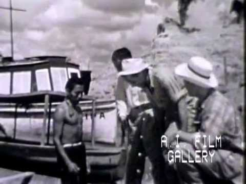 Chamis, Ucayali River, Peru, film by Johnson Motors, 1954
