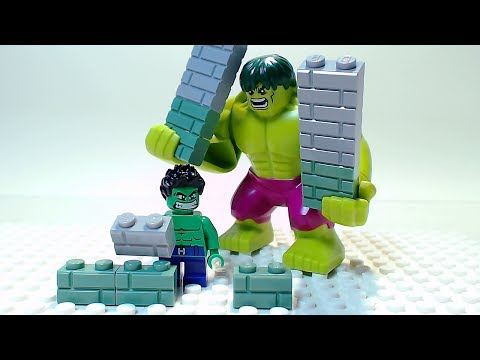 LEGO HULK Building Bricks Superhero Cartoon