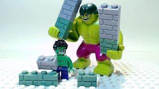 LEGO HULK Building Bricks Superhero Cartoon