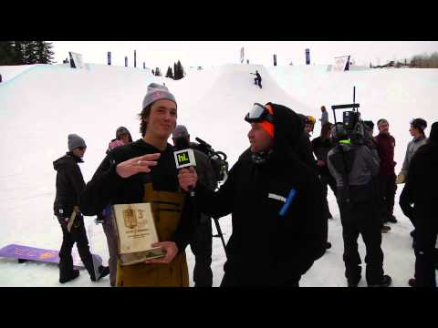 Interview with Red Bull Double Pipe's 3rd place winner Scotty James | TransWorld SNOWboarding