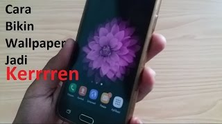 Cara bikin Wallpaper HP Android jadi 3 Dimensi (tanpa Root)