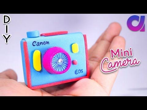 diy miniature camera using waste matchbox | kids crafts | Artkala 182