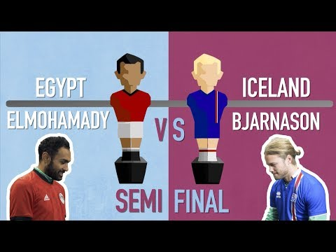 FIFA World Cup 2018 foosball tournament: Bjarnason v Elmohamady