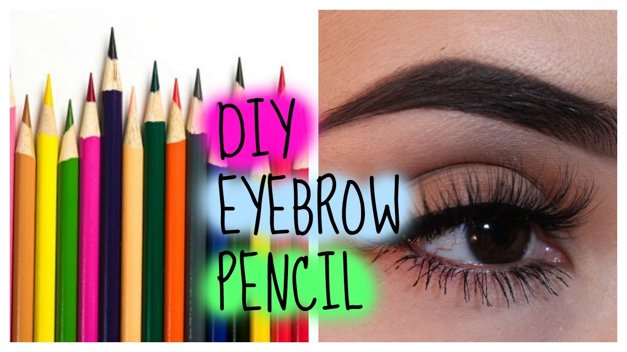 Diy Eyebrow Pencil Youtube