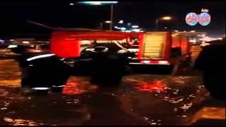 جولة محافظ الغربية لمدينة طنطا للاطمئنان على سرعة شفط وتصريف مياه الامطارk