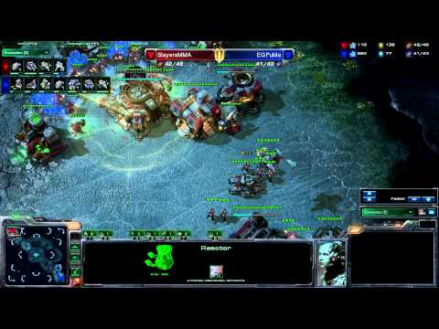 Starcraft 2 - Game 4 - PuMa vs MMA |